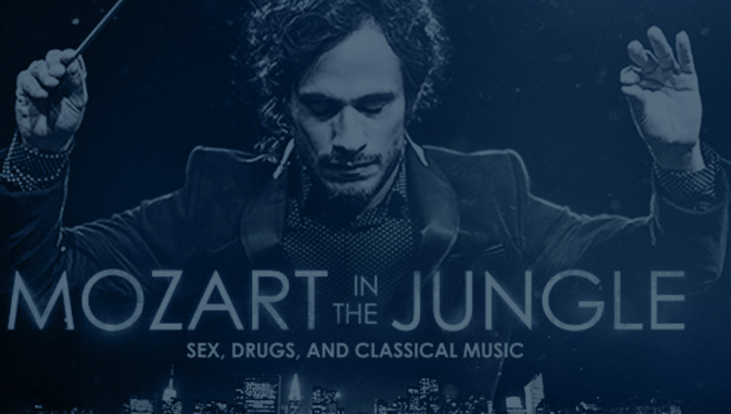 Filmography 5 – Mozart in the Jungle